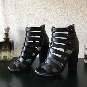 Steve Madden Strappy Booties